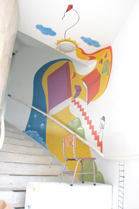Mural Biblioteca Infantil